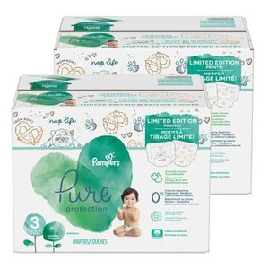 COUCHE Mega pack 88 Couches Pampers Pure Protection taill