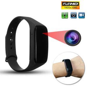 CAMÉRA MINIATURE  Micro Caméra Bracelet Montre 32G Connecté HD 1080