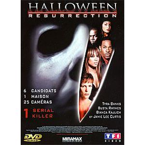 DVD FILM Halloween - Resurrection