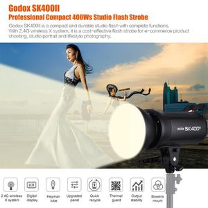 FLASH Godox SK400II Pro 400Ws Studio Flash Strobe Lampe