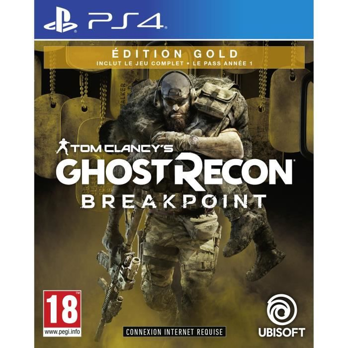 Ghost Recon BREAKPOINT Édition Gold Jeu PS4