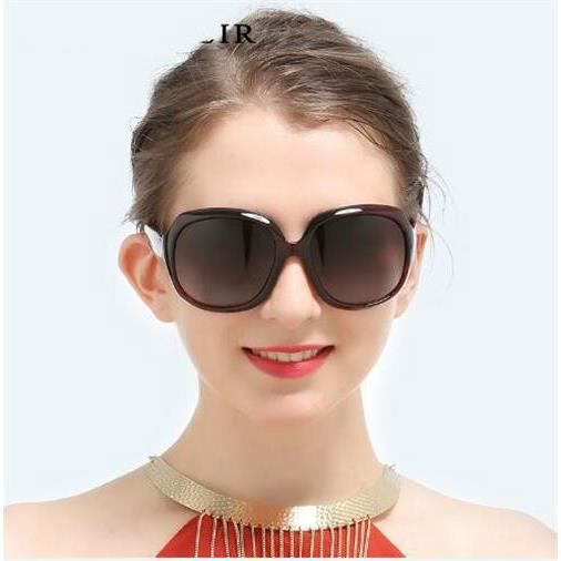 Big box sauvage Lady lunettes de soleil Lunettes de soleil pour hommes Conducteur conduisant des lunettes de soleil polarisées