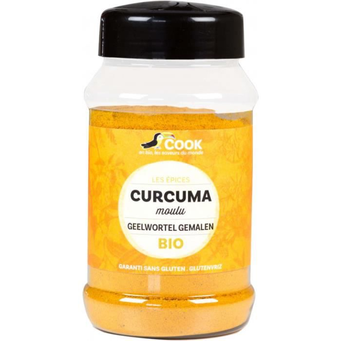 Nos courses Bio - Curcuma poudre 200gr