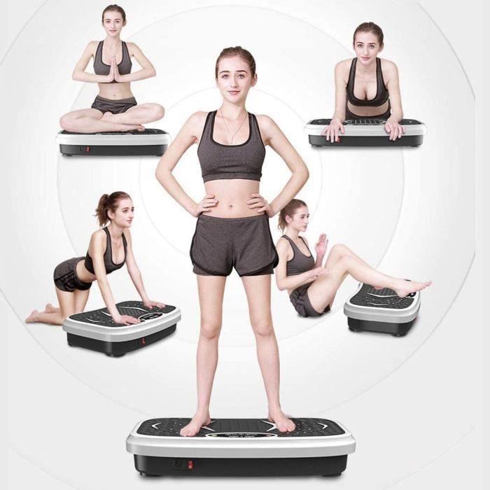 Plateformes vibrantes et oscillantes Perdre de la graisse Machine d'exercice &agrave plaque vibrante Perte de poids Entra&icirc149