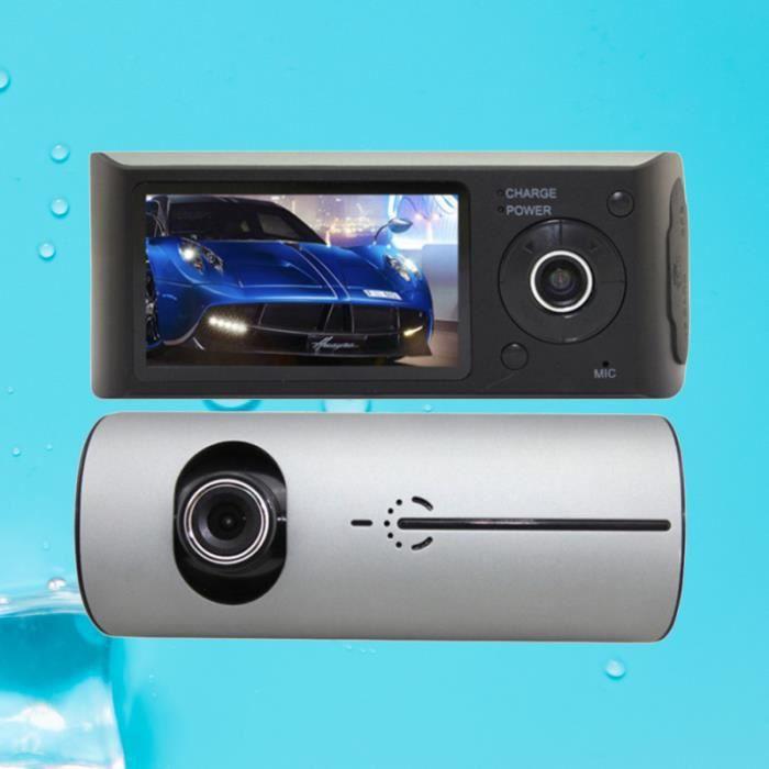 Enregistreur de Conduite CaméScope de de 2,7 Pouces à Double boite noire video - camera embarquee aide a la conduite - securite