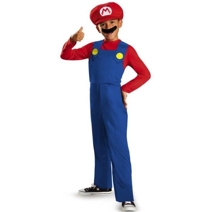 Déguisement Mario bros garçon - …