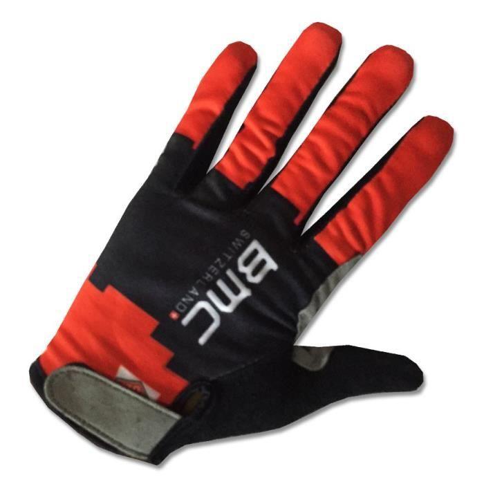 BMC Gants de VTT Cyclisme ,Vélo Route Gants de Sports MTB pour Hommes et Femmes,Thermique Longues Gloves