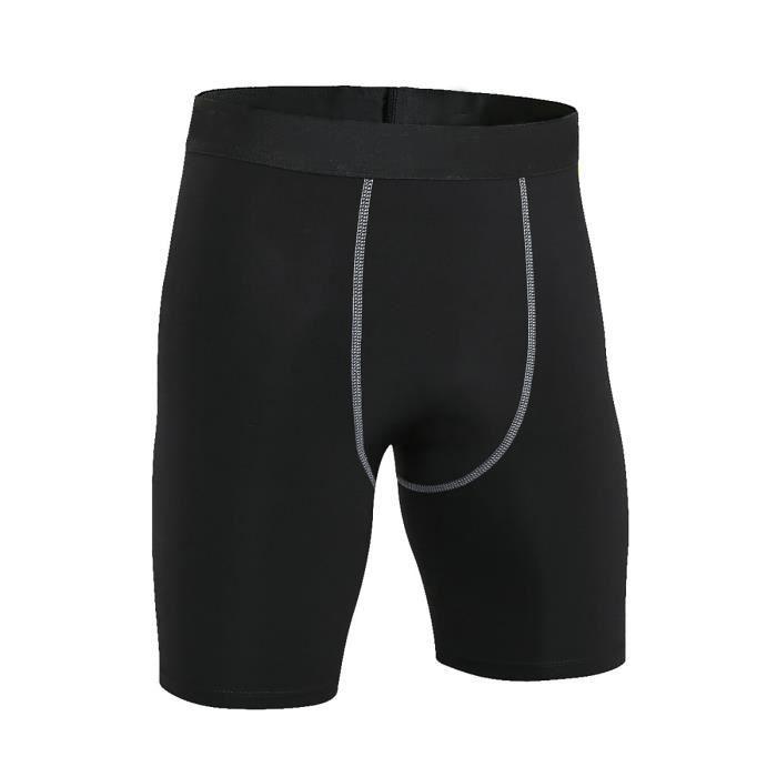 Pantalon Short De Compression À Sec Haute Vitesse Élastique Chierewe3733
