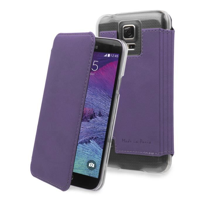 MUVIT Made in Paris Etui - Crystal - Violet