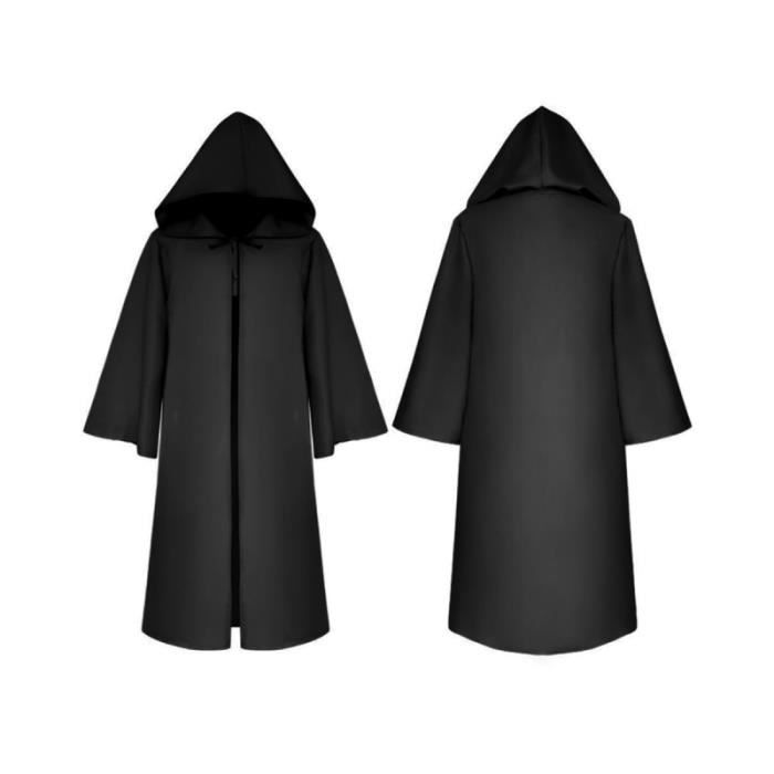 Cape Cosplay Costume Robe Death Cloak for Children