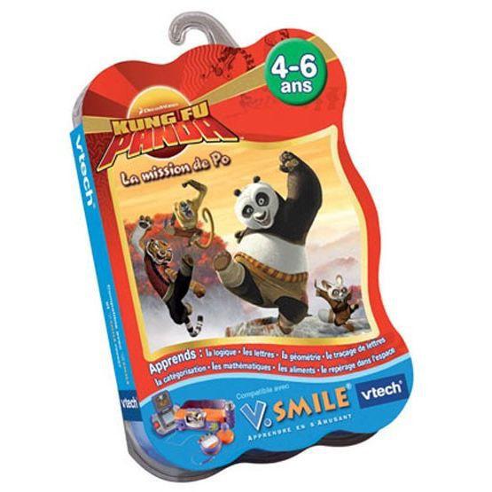Jeu V.SMILE Kung fu panda Vtech