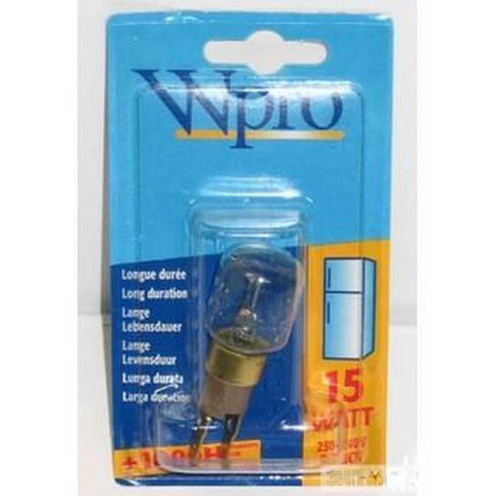 Ampoule Tclick / T25 / 15W / 220V (60269-16979) - Réfrigérateur, congélateur - WHIRLPOOL (6214)