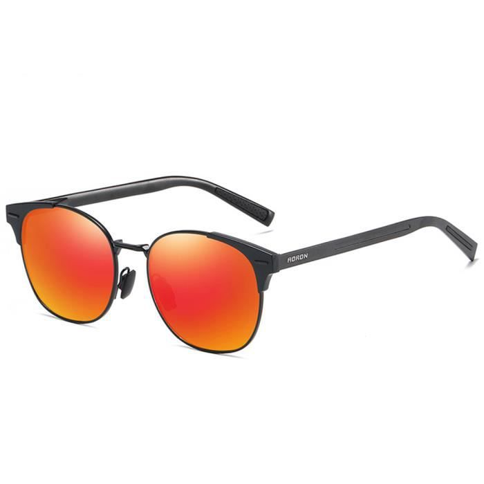 ray ban homme orange