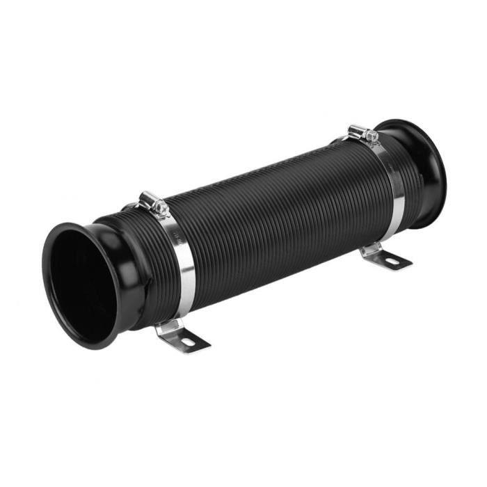 51 mm noir 2 mètres Silicone Conduits Tuyau Flexible Chaud ou Froid Voiture Tuyau D/'Air