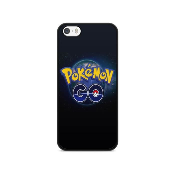 COQUE - BUMPER Coque Iphone 5c Pokemon go team pokedex Pikachu Ma