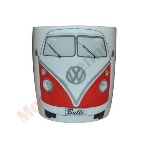 mug vw combi split rouge achat vente bol mug. Black Bedroom Furniture Sets. Home Design Ideas