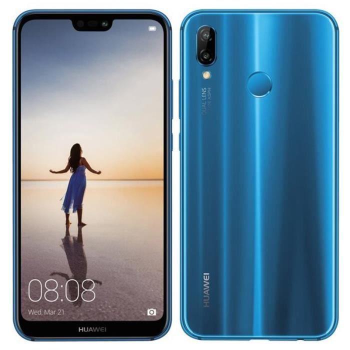 SMARTPHONE (Bleu) 5.84'' Pour Huawei P20 Lite 4+64GB Occasion