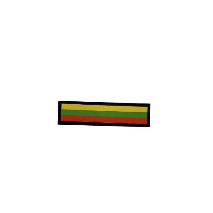 Patch ecusson brode imprime voyage souvenir backpack drapeau kurdistan kurdes