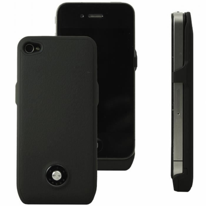 coque rechargeable batterie int gr e compatible iphone 4. Black Bedroom Furniture Sets. Home Design Ideas