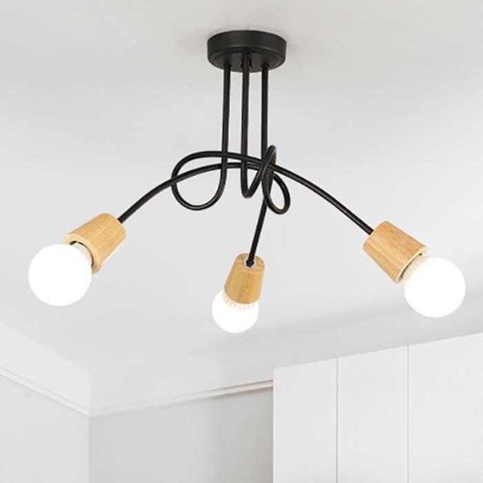 Plafonnier Luminaire 3 Spots Luminaire Design Moderne Eclairage