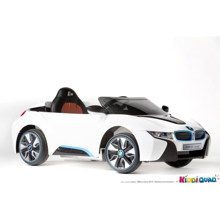 bmw i8 licence blanc voiture lectrique enfant 12v achat. Black Bedroom Furniture Sets. Home Design Ideas