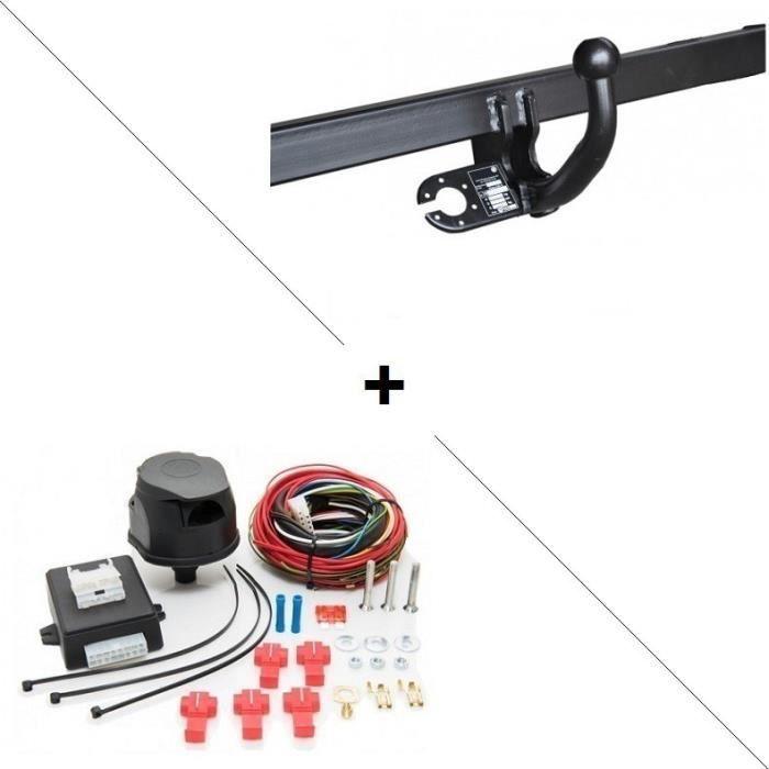 EBTOOLS Kit daide au Stationnement Auto Syst/ème Stationnement avec 4 capteurs de recul Blanc