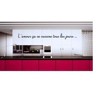 stickers cuisine rouge achat vente stickers cuisine rouge pas. Black Bedroom Furniture Sets. Home Design Ideas