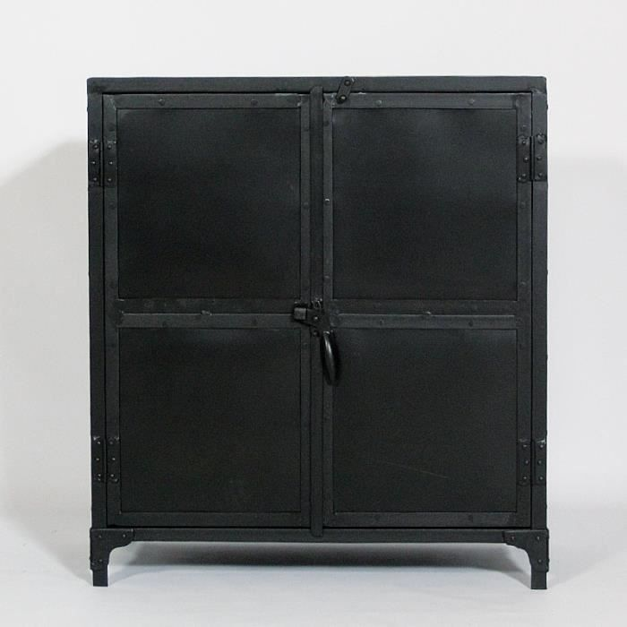 buffet metal pas cher meuble de salon contemporain. Black Bedroom Furniture Sets. Home Design Ideas