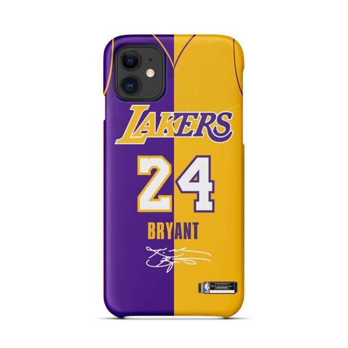 Coque iPhone XR,Maillot NBA Kobe Bryant Lakers Coque Compatible ...