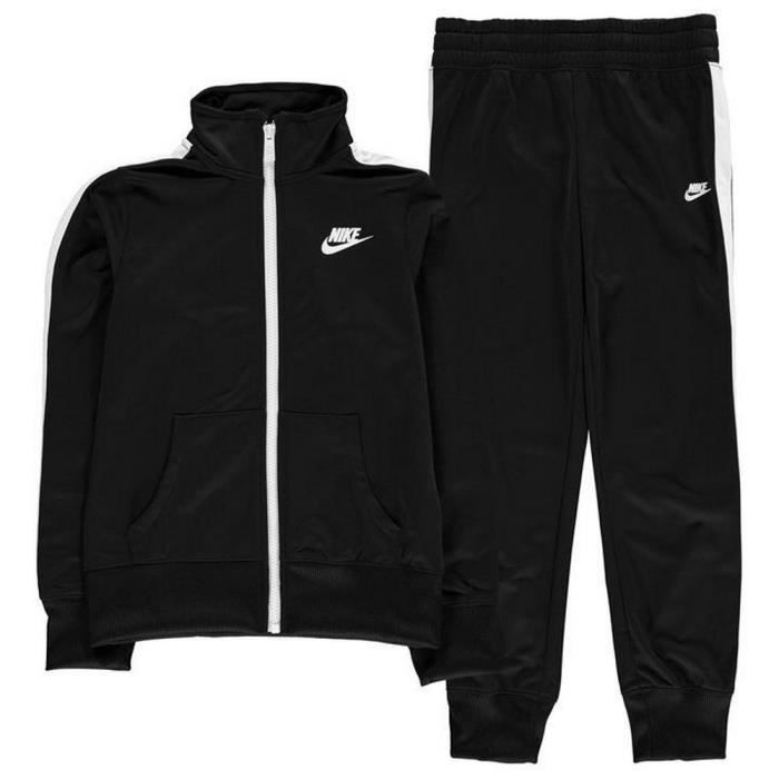 various styles authentic quality picked up Jogging Nike Swoosh Fille Noir