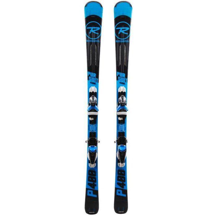 SKI Ski Rossignol Pursuit 400 carbon + fixations