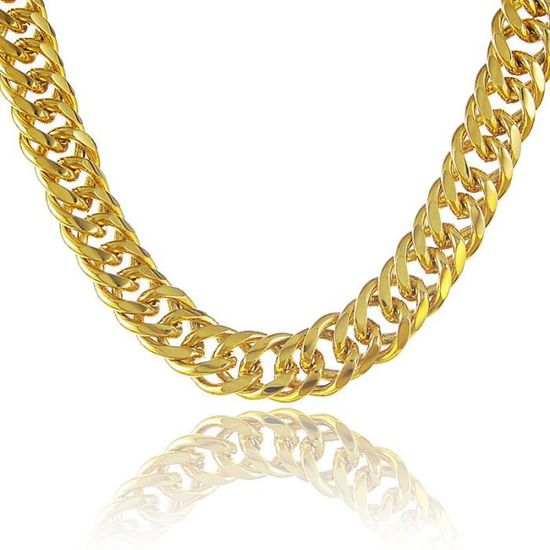 collier en or massif pour homme