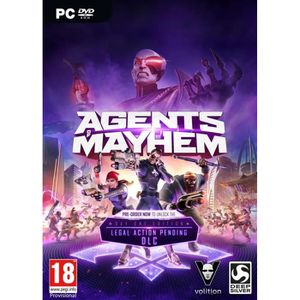 JEU PC Agents Of Mayhem Day One Edition Jeu PC