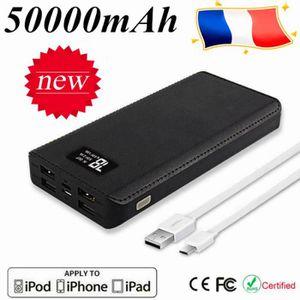 BATTERIE EXTERNE RUILIN®50000mAh Batterie externe portable Écran LC