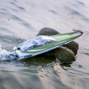DRONE FT016 haute vitesse RC Boat 2,4 GHz 4 canaux Racin