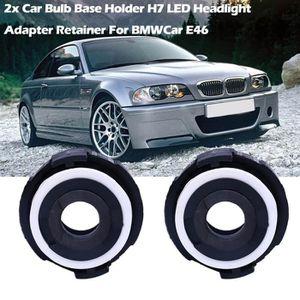 PHARES - OPTIQUES 2x support de base d'ampoule de voiture H7 LED ret