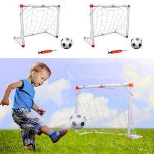 MINI-CAGE DE FOOTBALL 2 Lots Mini Cage de Foot But de Football Pliant Jo