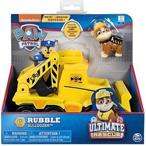 FIGURINE - PERSONNAGE Pat Patrouille Ultimate Rescue : Ruben Et Son Trac