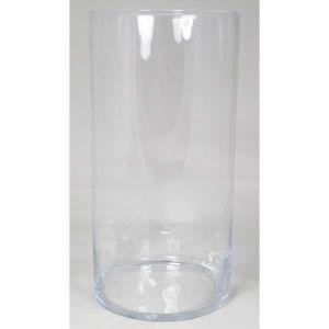 VASE - SOLIFLORE Vase à poser au sol ROMAN, cylindre-rond, transpar