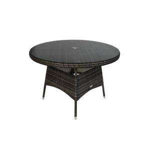 Charles Bentley - Table ronde de jardin Milano - 6 places ...