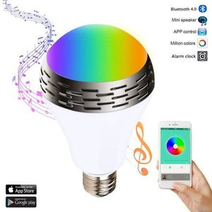 AMPOULE INTELLIGENTE Ampoule intelligente, Ampoule LED RGB avec 7 coule