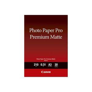 PAPIER PHOTO INSTANTANE Canon Pro Premium PM-101 Mat lisse 310 micromètres