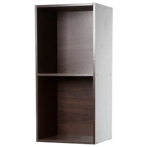 meuble marron cube achat vente meuble marron cube pas cher soldes cdiscount. Black Bedroom Furniture Sets. Home Design Ideas