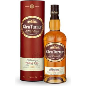 WHISKY BOURBON SCOTCH whisky GLEN TURNER HERITAGE