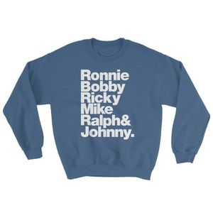 Ricky and Johnny Sweatshirt Wet Nose Studio New Edition Ronnie Ralph Bobby Mike