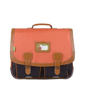 CARTABLE Cartable 41 cm TANN'S 2017 Iconic Orange/Gris