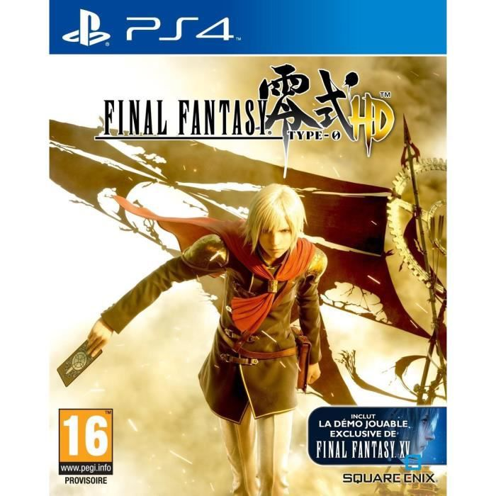 Final Fantasy Type 0 HD Jeu PS4