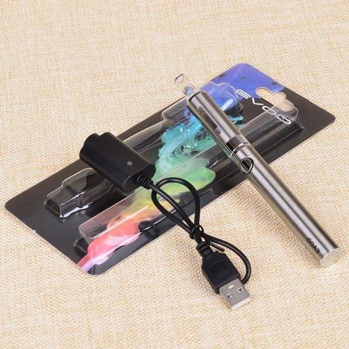 Evod MT3 kits de cigarette électronique 1,6 ml MT3 atomiseur 1100mah Evod batterie cigarette électronique Ego Kits blister Evod MT