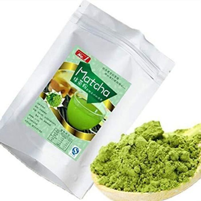 250g (0.55LB) TOP GRADE Pure Matcha Organique Thé Aliments Poudre De Thé Vert Fraisé 4 Heures / Chaque Thé Chinois Thé Cru Sheng Cha