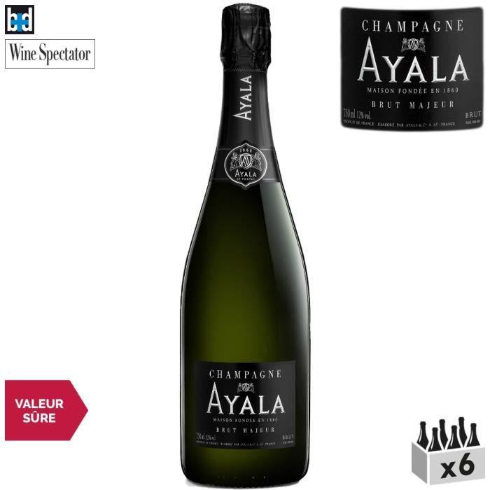 Maison Ayala Champagne Brut Majeur Blanc x6